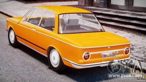 BMW 2002 1972 para GTA 4 visión correcta