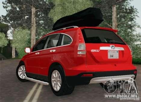 Honda CRV 2011 para GTA San Andreas left