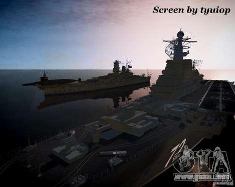 Marina de guerra para GTA 4