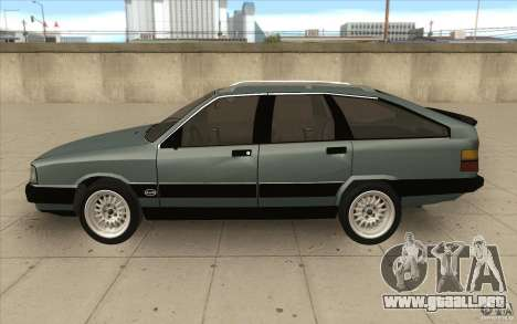 Audi 100 Avant Quattro para GTA San Andreas left