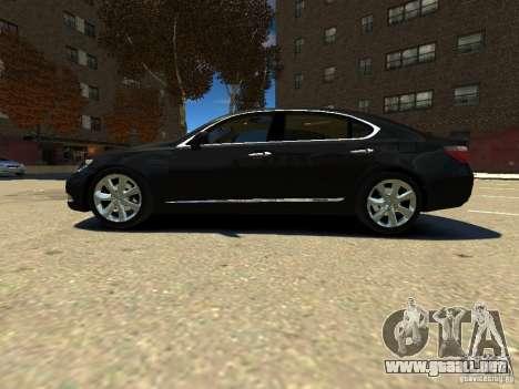 Lexus LS600 V2.0 para GTA 4 left