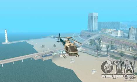 AS350 Ecureuil para visión interna GTA San Andreas