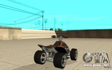 Powerquad_by-Woofi-MF piel 3 para GTA San Andreas vista posterior izquierda
