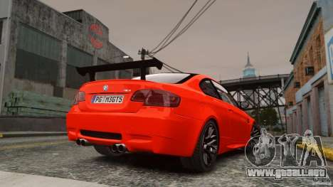 BMW M3 GTS Final para GTA 4 left
