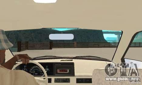Oldsmobile Cutlass Ciera 1993 para GTA San Andreas vista hacia atrás