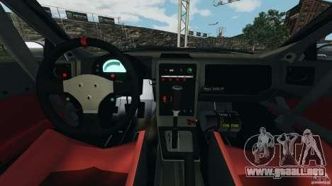 Mazda RX-7 Mad Mike para GTA 4 vista hacia atrás