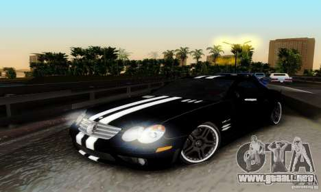 Mercedes Benz SL 65 AMG para vista lateral GTA San Andreas