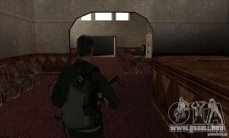 Sam Fisher para GTA San Andreas octavo de pantalla