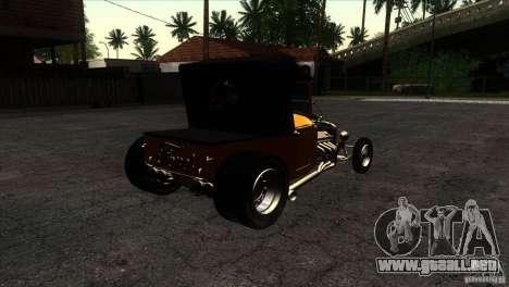 Ford T 1927 Hot Rod para la visión correcta GTA San Andreas