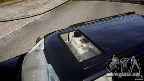 Chevrolet Suburban Z-71 2003 para GTA 4 vista superior