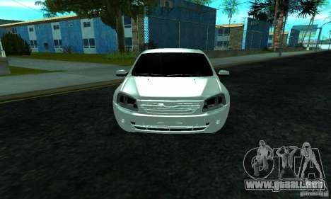 Lada 2190 Granta para visión interna GTA San Andreas