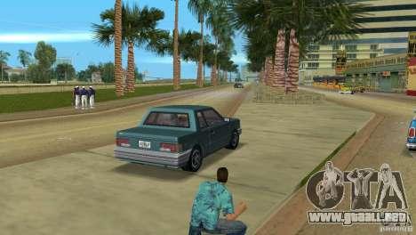 Manana HD para GTA Vice City vista lateral izquierdo