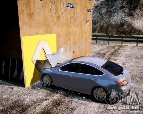 LC Crash Test Center para GTA 4 octavo de pantalla
