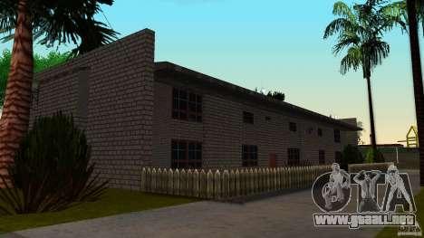 Apartamento de dos habitaciones para GTA San Andreas
