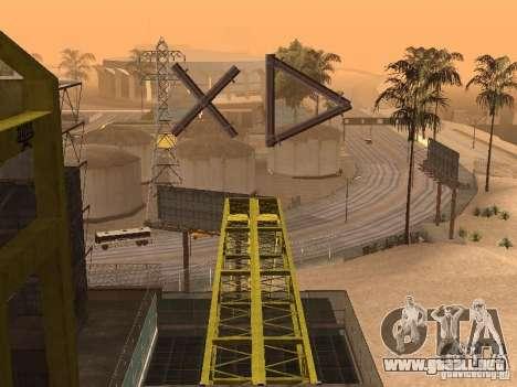 Huge MonsterTruck Track para GTA San Andreas