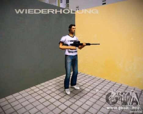 Pak armas de GTA4 para GTA Vice City décimo de pantalla