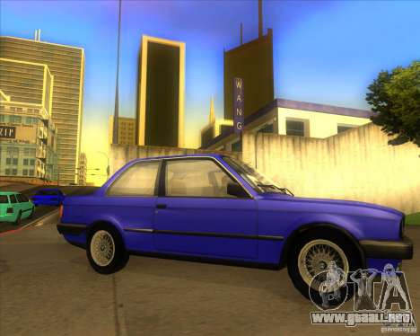 BMW E30 323i para la visión correcta GTA San Andreas