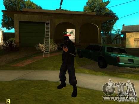 SkinHead (Football fan) para GTA San Andreas segunda pantalla