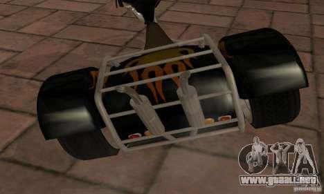 Trike para GTA San Andreas vista posterior izquierda