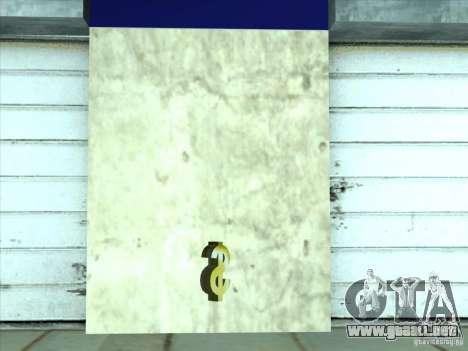 Asesoría jurídica de empresa Cidžeâ para GTA San Andreas sexta pantalla