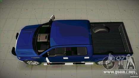 Ford Lobo Lariat Ecoboost 2013 para la visión correcta GTA San Andreas