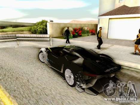 Citroen GT Gymkhana para GTA San Andreas left