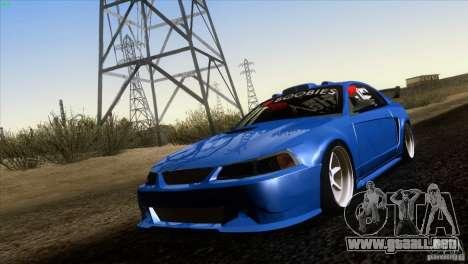 Ford Mustang GT 1999 para GTA San Andreas left