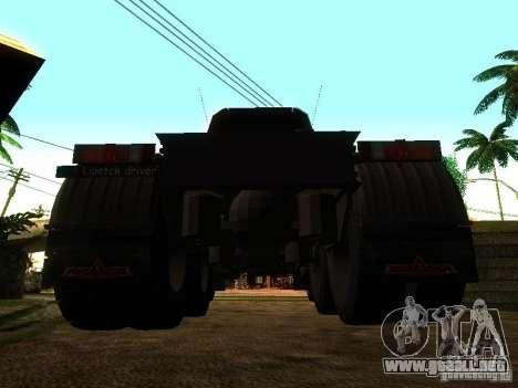 MAZ 642205 v1.0 para GTA San Andreas vista posterior izquierda