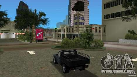 Anadol Pikap para GTA Vice City vista lateral izquierdo