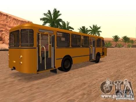 Nuevos scripts para autobuses. 2.0 para GTA San Andreas quinta pantalla