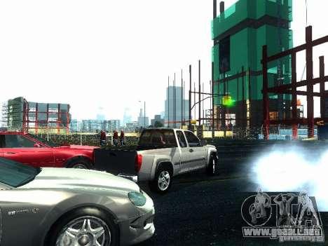 Chevrolet Colorado 2003 para GTA San Andreas vista hacia atrás