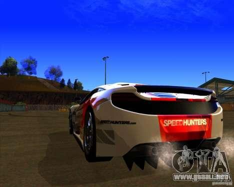 McLaren MP4 - SpeedHunters Edition para GTA San Andreas vista posterior izquierda