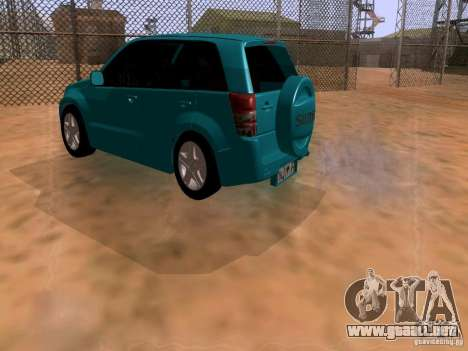 Suzuki Grand Vitara para GTA San Andreas left