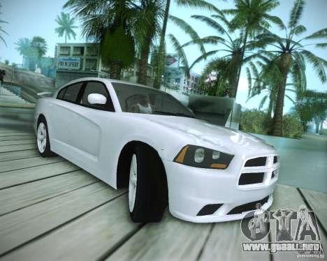 Dodge Charger 2011 v.2.0 para visión interna GTA San Andreas