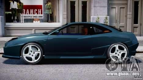 Fiat Coupe 2000 para GTA 4 Vista posterior izquierda