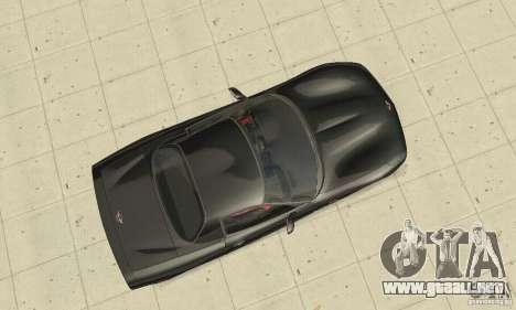 Chevrolet Corvette 5 para la visión correcta GTA San Andreas