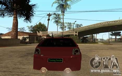 Volkswagen Golf GTI 3 Tuning para GTA San Andreas vista posterior izquierda