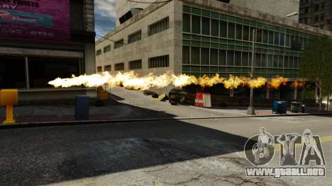 Fuego en las manos de Geralt para GTA 4 tercera pantalla