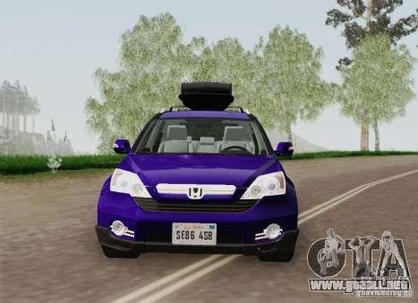Honda CRV 2011 para la vista superior GTA San Andreas