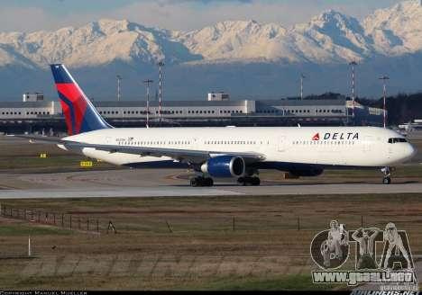 Pantallas de carga Boeing 767 para GTA San Andreas octavo de pantalla