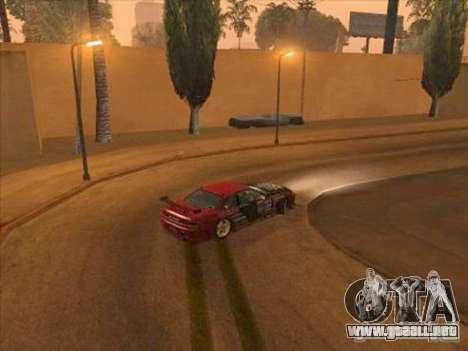 Manejo Mod para SA: MP para GTA San Andreas segunda pantalla
