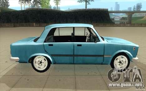 Fiat 125p para visión interna GTA San Andreas