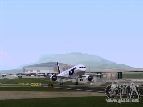 Boeing 787-9 LOT Polish Airlines para GTA San Andreas left