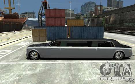Rolls-Royce Phantom Sapphire Limousine v.1.2 para GTA 4 left