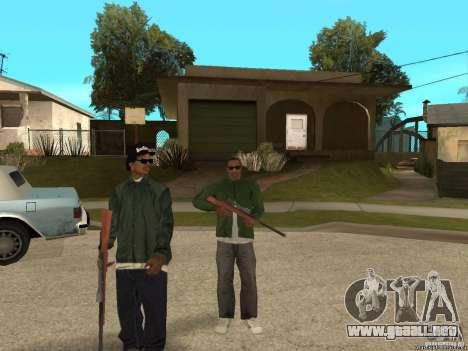 Dos guiones para una mejor protección para GTA San Andreas sucesivamente de pantalla