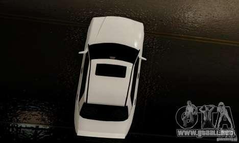 Mercedes-Benz 190E para vista lateral GTA San Andreas