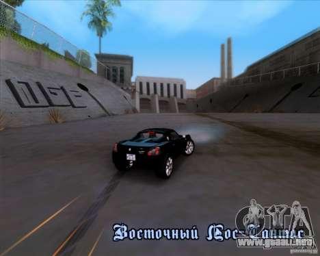 Vauxhall VX220 Turbo para visión interna GTA San Andreas
