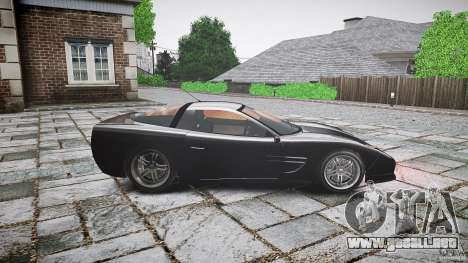 Coquette FBI car para GTA 4 left
