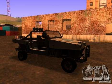 Camioneta de T3 para GTA San Andreas left