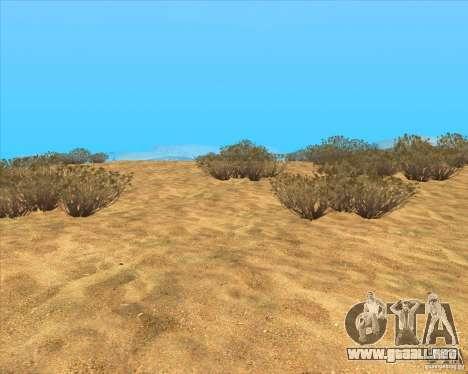 Desert HQ para GTA San Andreas tercera pantalla